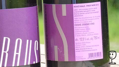 P1150675 Pinot KRAUS Etiketa