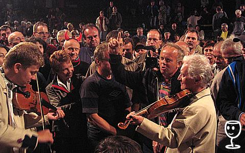 Horňáci 2008 Dav