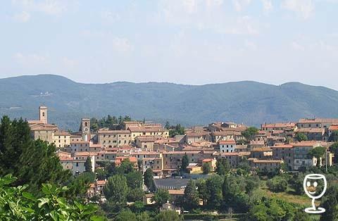 Montescudaio pofled z Fattoria Santa Maria
