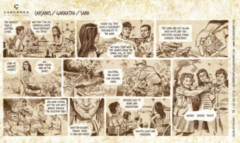 Comics Sand panal-en